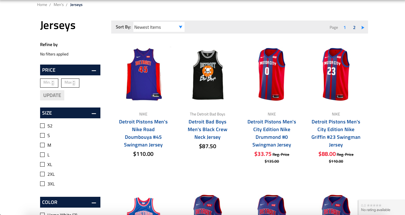bigcommerce store example