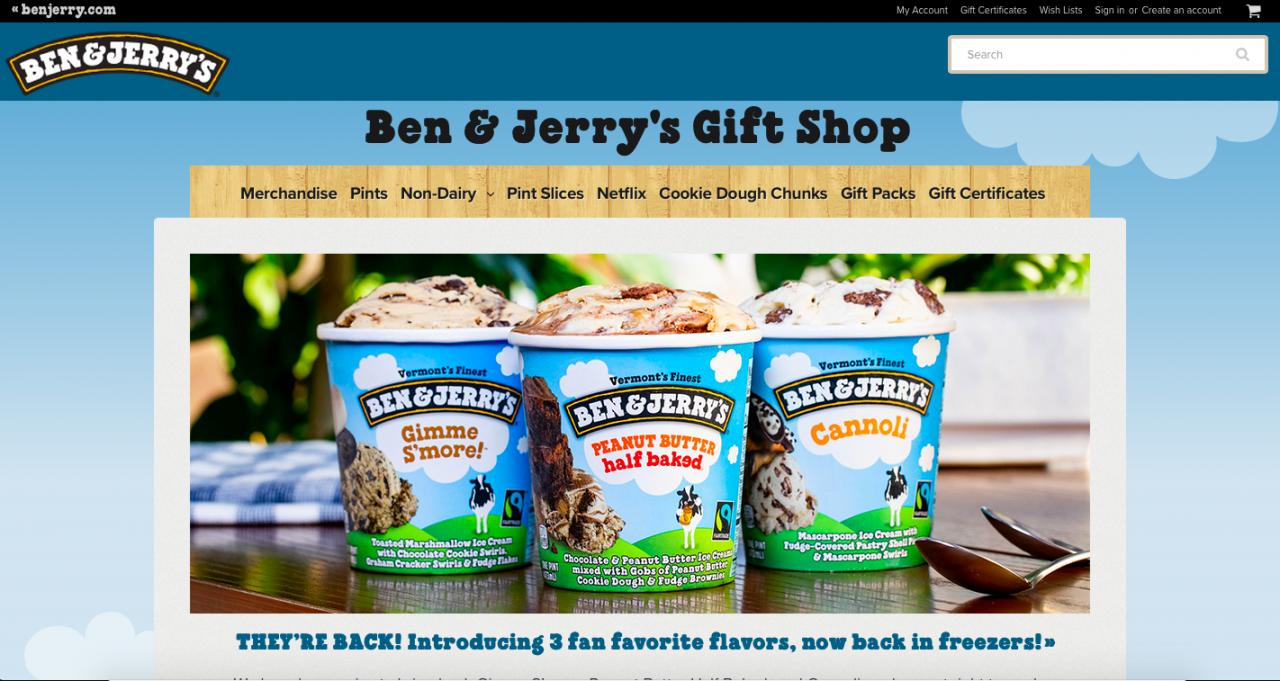 bigcommerce example Website 6